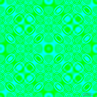 , Lime and Aqua cellular plasma seamless tileable