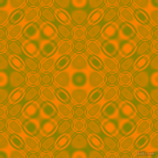 Olive and Dark Orange cellular plasma seamless tileable