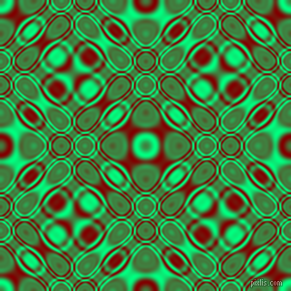 , Spring Green and Maroon cellular plasma seamless tileable