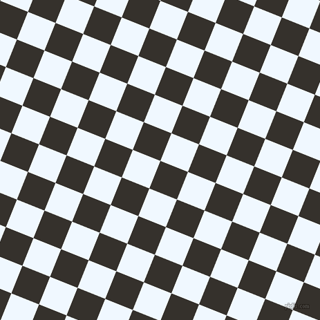 68/158 degree angle diagonal checkered chequered squares checker pattern checkers background, 43 pixel squares size, , Acadia and Alice Blue checkers chequered checkered squares seamless tileable