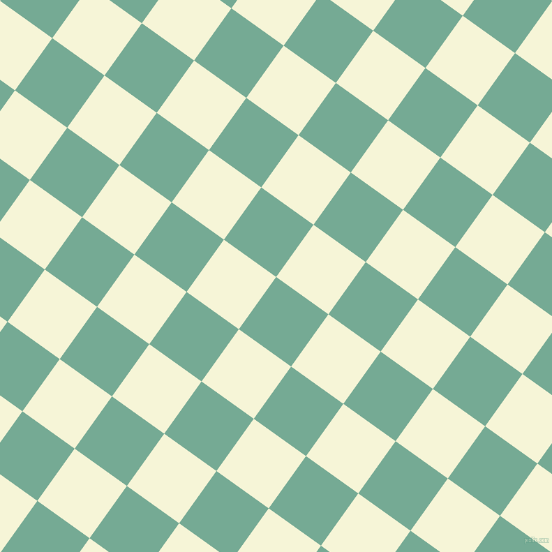 54/144 degree angle diagonal checkered chequered squares checker pattern checkers background, 92 pixel square size, , Acapulco and Hint Of Yellow checkers chequered checkered squares seamless tileable