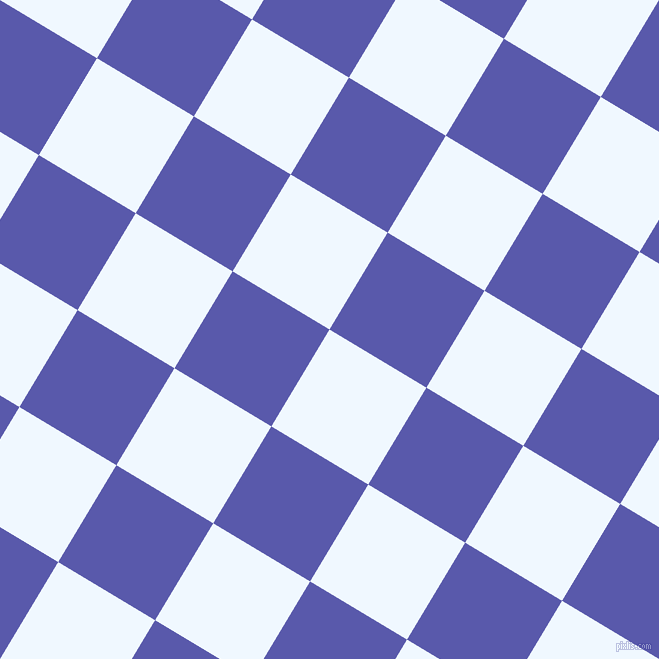 59/149 degree angle diagonal checkered chequered squares checker pattern checkers background, 113 pixel square size, , Alice Blue and Rich Blue checkers chequered checkered squares seamless tileable
