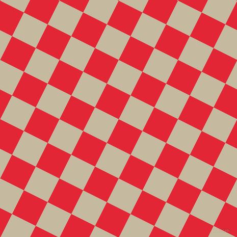 63/153 degree angle diagonal checkered chequered squares checker pattern checkers background, 52 pixel squares size, , Alizarin and Sisal checkers chequered checkered squares seamless tileable