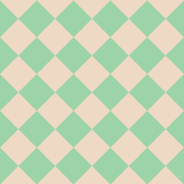 45/135 degree angle diagonal checkered chequered squares checker pattern checkers background, 87 pixel square size, , Almond and Chinook checkers chequered checkered squares seamless tileable