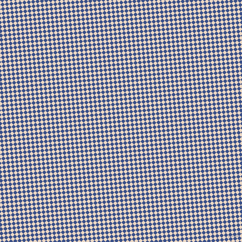 50/140 degree angle diagonal checkered chequered squares checker pattern checkers background, 10 pixel squares size, , Almond and Tory Blue checkers chequered checkered squares seamless tileable