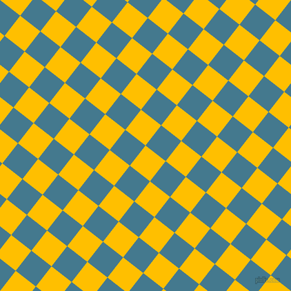 52/142 degree angle diagonal checkered chequered squares checker pattern checkers background, 37 pixel square size, Amber and Jelly Bean checkers chequered checkered squares seamless tileable