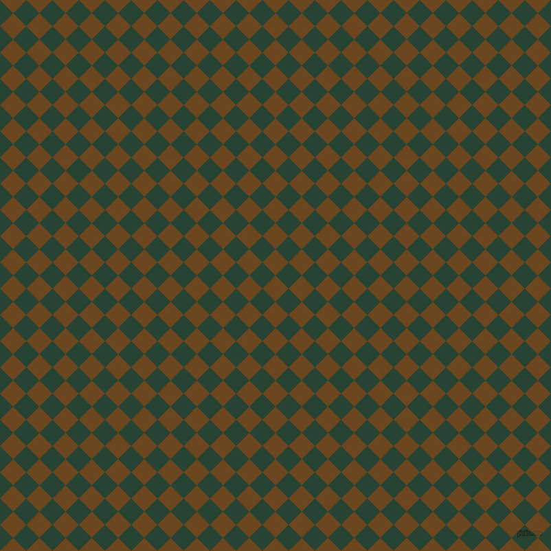 45/135 degree angle diagonal checkered chequered squares checker pattern checkers background, 27 pixel square size, , Antique Brass and Everglade checkers chequered checkered squares seamless tileable