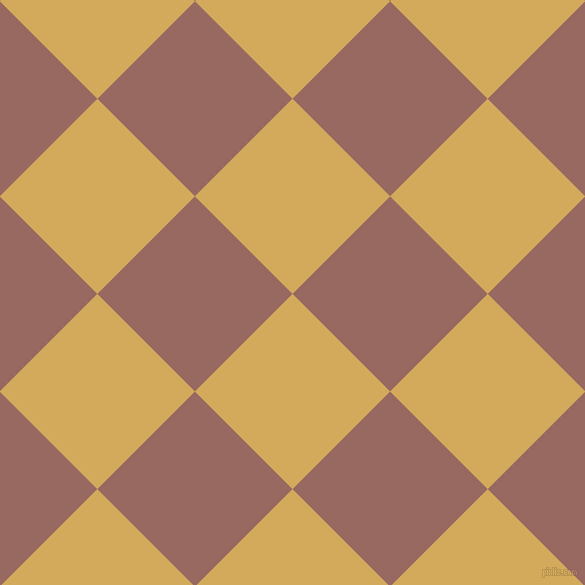 45/135 degree angle diagonal checkered chequered squares checker pattern checkers background, 138 pixel square size, , Apache and Dark Chestnut checkers chequered checkered squares seamless tileable