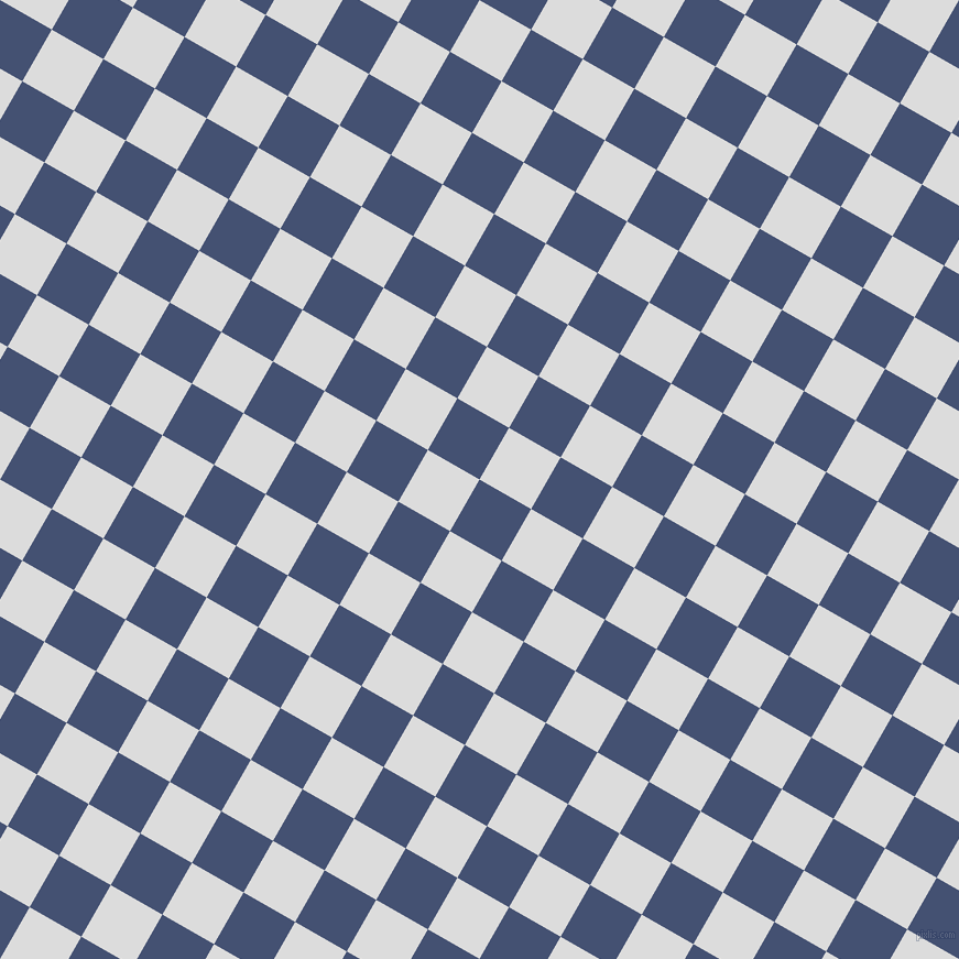 60/150 degree angle diagonal checkered chequered squares checker pattern checkers background, 54 pixel squares size, Astronaut and Gainsboro checkers chequered checkered squares seamless tileable