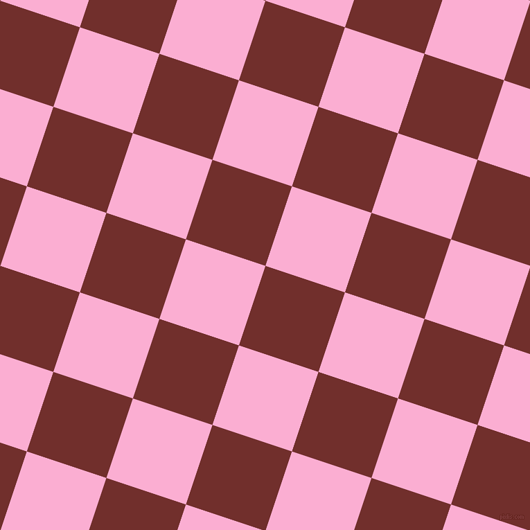 72/162 degree angle diagonal checkered chequered squares checker pattern checkers background, 121 pixel squares size, , Auburn and Lavender Pink checkers chequered checkered squares seamless tileable