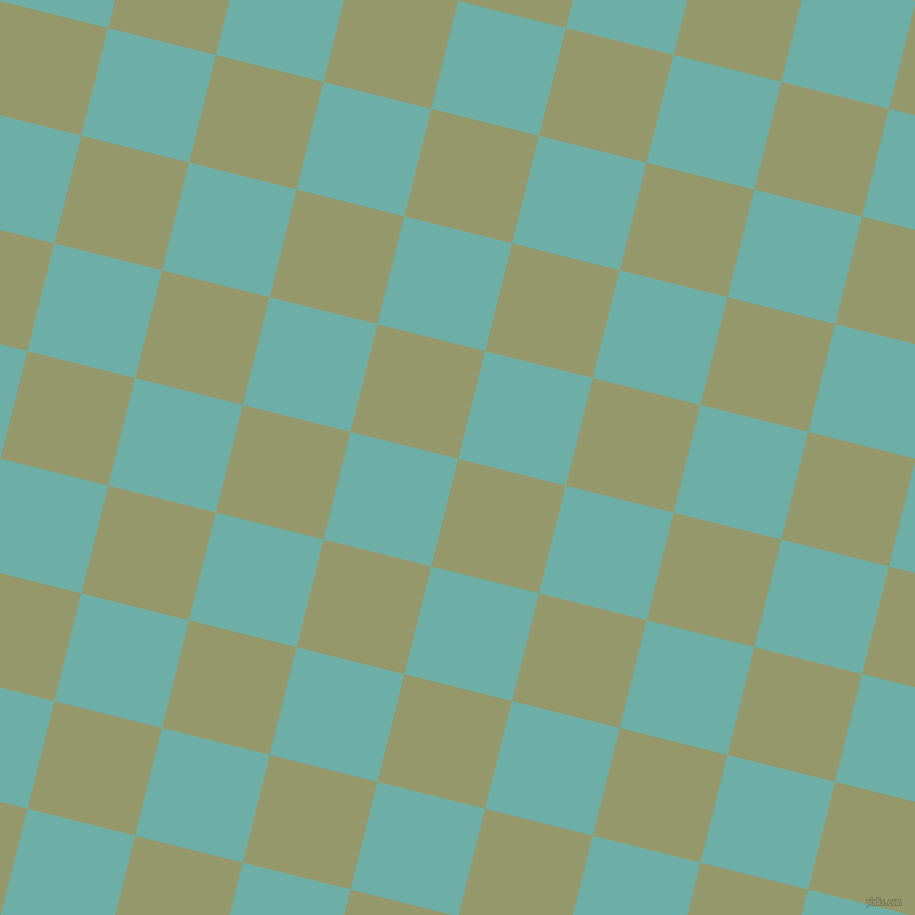76/166 degree angle diagonal checkered chequered squares checker pattern checkers background, 111 pixel squares size, , Avocado and Tradewind checkers chequered checkered squares seamless tileable