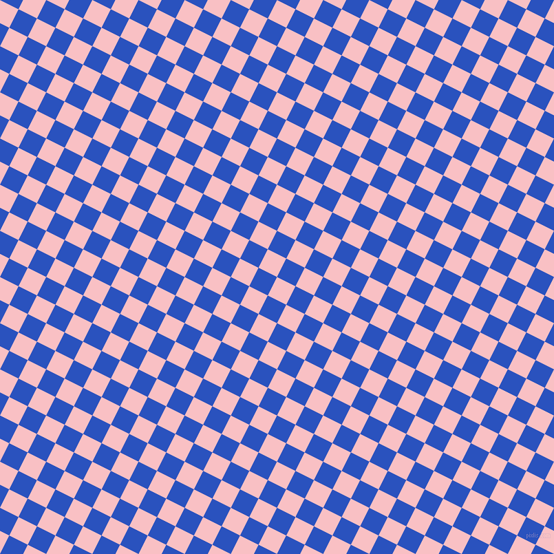63/153 degree angle diagonal checkered chequered squares checker pattern checkers background, 30 pixel square size, , Azalea and Cerulean Blue checkers chequered checkered squares seamless tileable