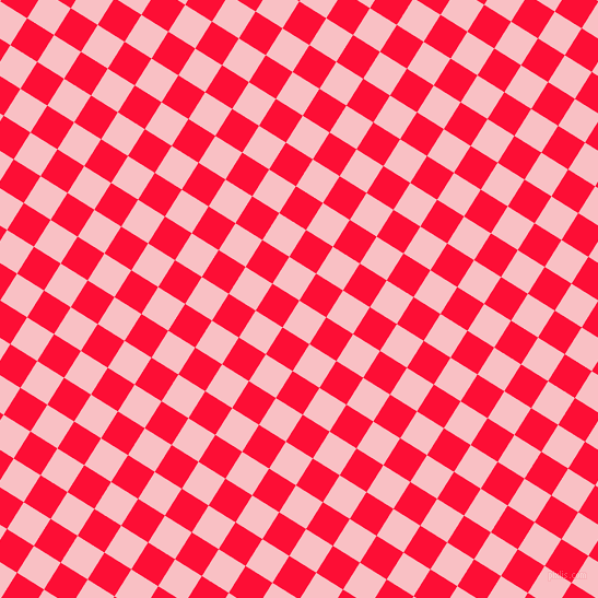 58/148 degree angle diagonal checkered chequered squares checker pattern checkers background, 29 pixel square size, , Azalea and Torch Red checkers chequered checkered squares seamless tileable