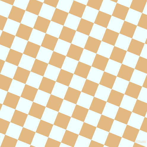 68/158 degree angle diagonal checkered chequered squares checker pattern checkers background, 46 pixel squares size, , Azure and Maize checkers chequered checkered squares seamless tileable