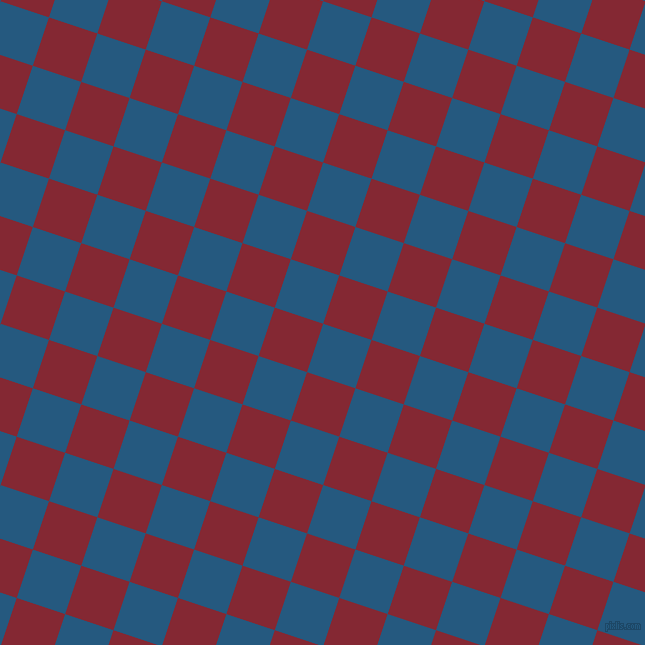 72/162 degree angle diagonal checkered chequered squares checker pattern checkers background, 51 pixel squares size, , Bahama Blue and Shiraz checkers chequered checkered squares seamless tileable