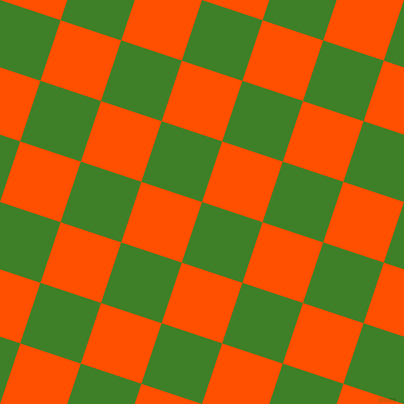 72/162 degree angle diagonal checkered chequered squares checker pattern checkers background, 126 pixel squares size, , Bilbao and International Orange checkers chequered checkered squares seamless tileable