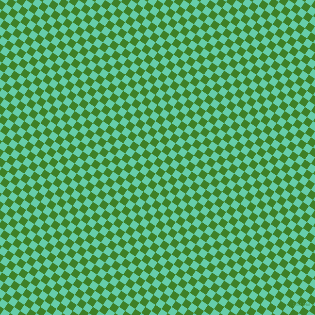 56/146 degree angle diagonal checkered chequered squares checker pattern checkers background, 15 pixel square size, , Bilbao and Medium Aquamarine checkers chequered checkered squares seamless tileable