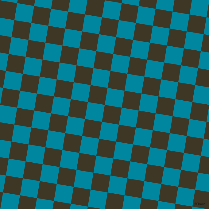 81/171 degree angle diagonal checkered chequered squares checker pattern checkers background, 56 pixel squares size, , Birch and Eastern Blue checkers chequered checkered squares seamless tileable