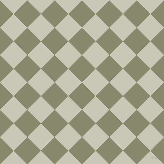 45/135 degree angle diagonal checkered chequered squares checker pattern checkers background, 75 pixel square size, Bitter and Chrome White checkers chequered checkered squares seamless tileable