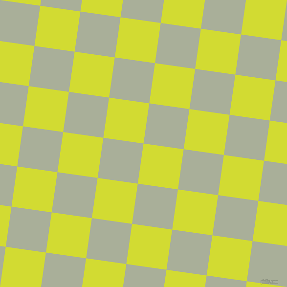 82/172 degree angle diagonal checkered chequered squares checker pattern checkers background, 83 pixel square size, , Bitter Lemon and Green Spring checkers chequered checkered squares seamless tileable