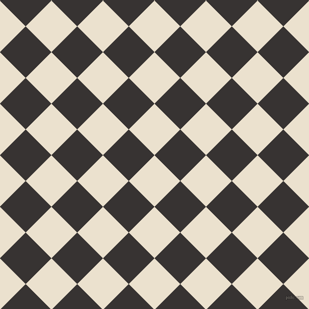45/135 degree angle diagonal checkered chequered squares checker pattern checkers background, 73 pixel square size, , Bleach White and Gondola checkers chequered checkered squares seamless tileable