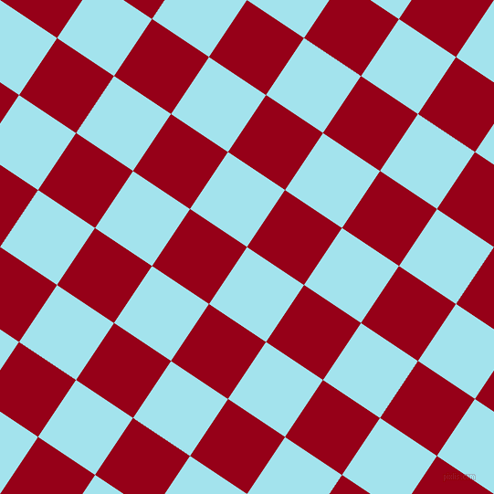 56/146 degree angle diagonal checkered chequered squares checker pattern checkers background, 75 pixel square size, , Blizzard Blue and Carmine checkers chequered checkered squares seamless tileable