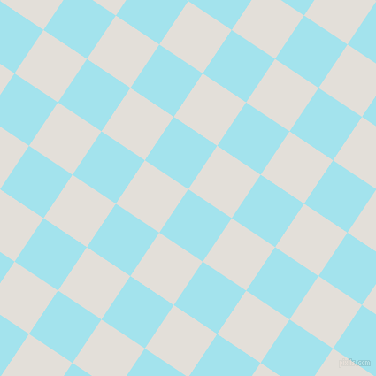 56/146 degree angle diagonal checkered chequered squares checker pattern checkers background, 59 pixel squares size, , Blizzard Blue and Vista White checkers chequered checkered squares seamless tileable