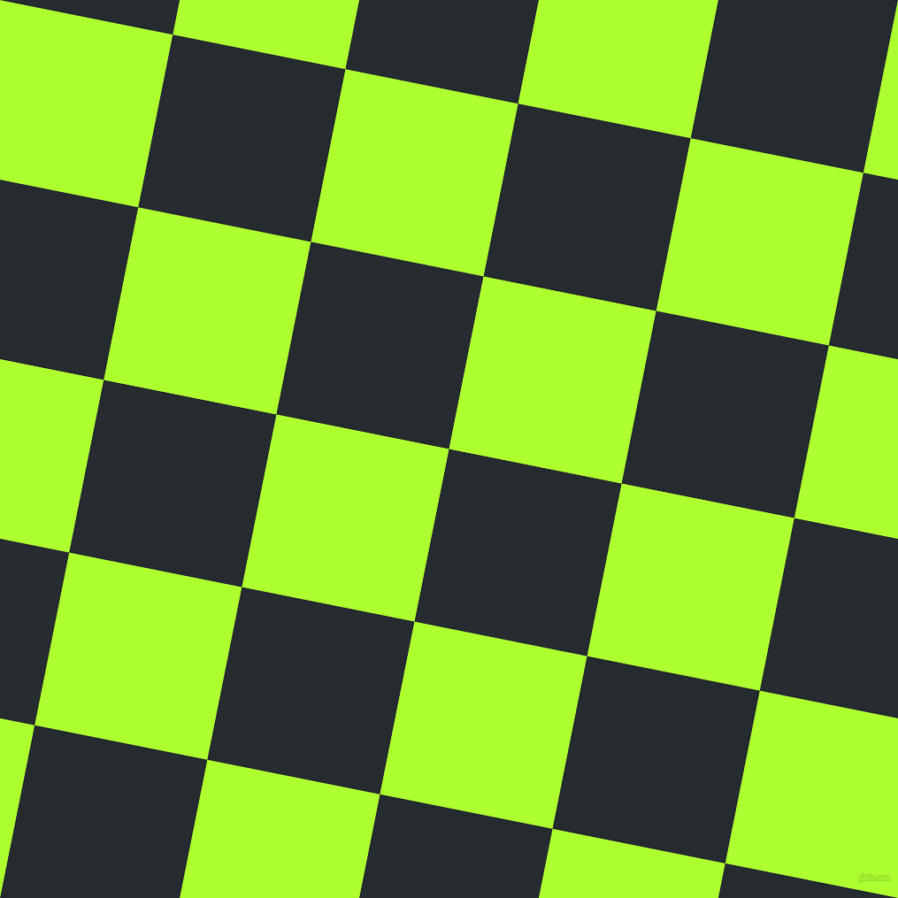 Blue Charcoal And Green Yellow Checkers Chequered