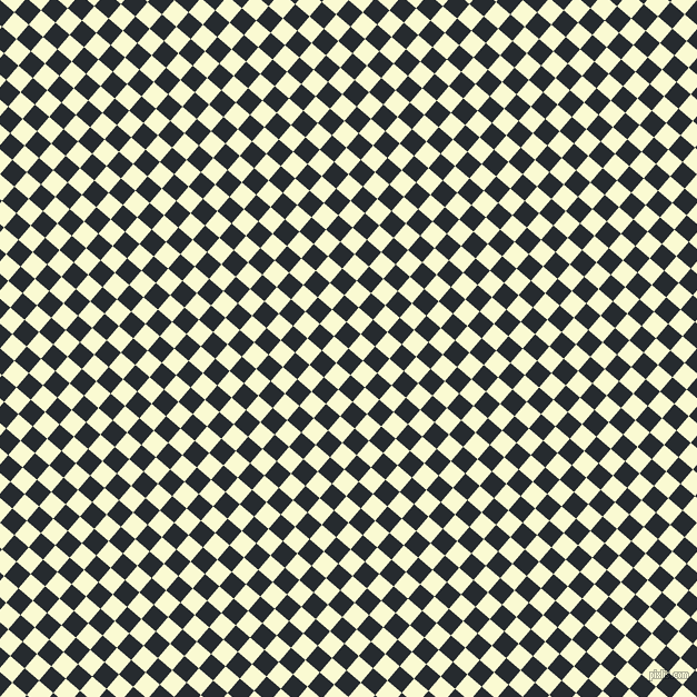 49/139 degree angle diagonal checkered chequered squares checker pattern checkers background, 17 pixel squares size, , Blue Charcoal and Light Goldenrod Yellow checkers chequered checkered squares seamless tileable