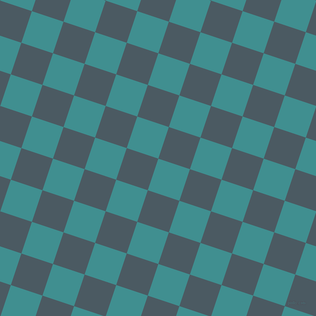 72/162 degree angle diagonal checkered chequered squares checker pattern checkers background, 66 pixel square size, , Blue Chill and Fiord checkers chequered checkered squares seamless tileable