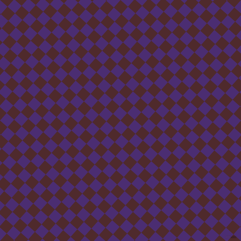 48/138 degree angle diagonal checkered chequered squares checker pattern checkers background, 34 pixel squares size, , Blue Diamond and Heath checkers chequered checkered squares seamless tileable