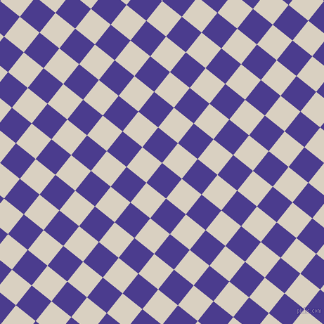 51/141 degree angle diagonal checkered chequered squares checker pattern checkers background, 36 pixel squares size, Blue Gem and Blanc checkers chequered checkered squares seamless tileable