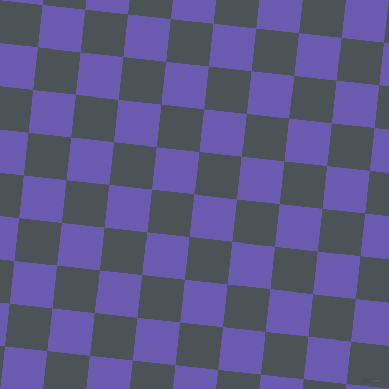 84/174 degree angle diagonal checkered chequered squares checker pattern checkers background, 85 pixel square size, , Blue Marguerite and Trout checkers chequered checkered squares seamless tileable