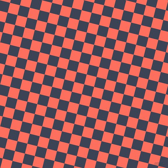76/166 degree angle diagonal checkered chequered squares checker pattern checkers background, 35 pixel squares size, , Blue Zodiac and Bittersweet checkers chequered checkered squares seamless tileable