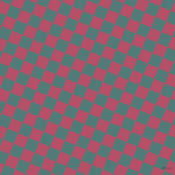 67/157 degree angle diagonal checkered chequered squares checker pattern checkers background, 40 pixel square size, , Blush and Breaker Bay checkers chequered checkered squares seamless tileable