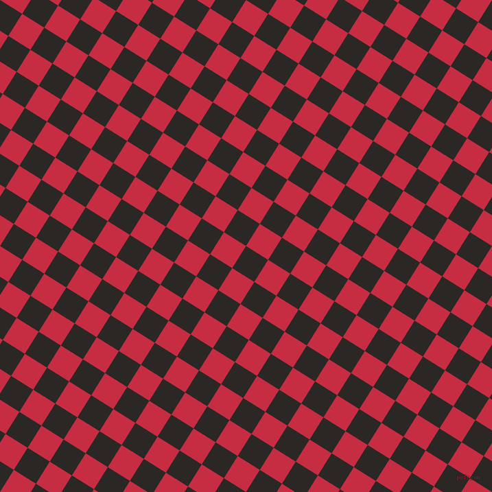 58/148 degree angle diagonal checkered chequered squares checker pattern checkers background, 38 pixel square size, , Bokara Grey and Brick Red checkers chequered checkered squares seamless tileable