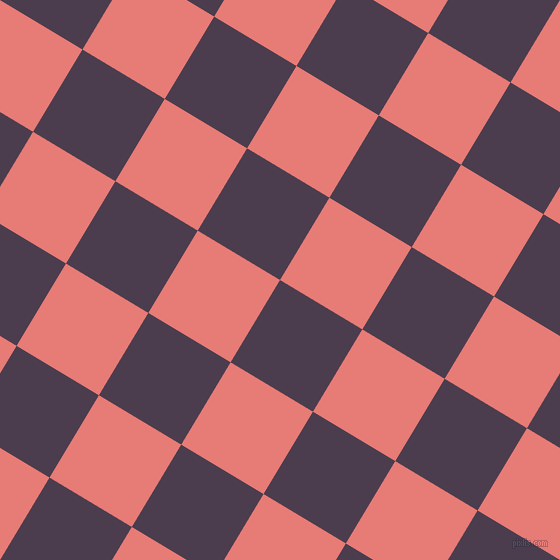 59/149 degree angle diagonal checkered chequered squares checker pattern checkers background, 96 pixel squares size, , Bossanova and Geraldine checkers chequered checkered squares seamless tileable