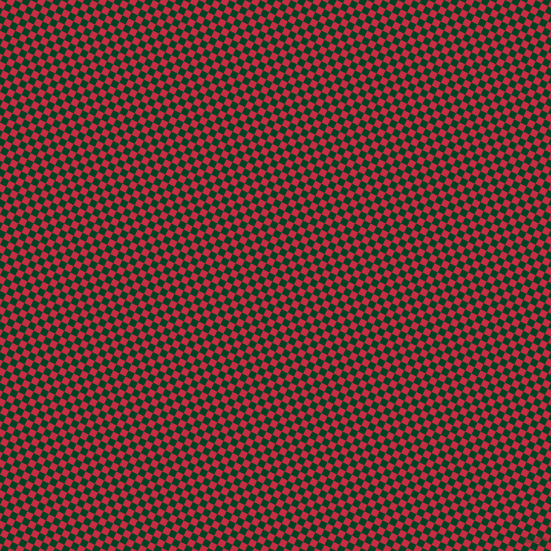 63/153 degree angle diagonal checkered chequered squares checker pattern checkers background, 10 pixel square size, , Brick Red and British Racing Green checkers chequered checkered squares seamless tileable
