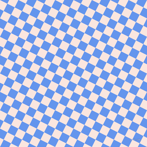 63/153 degree angle diagonal checkered chequered squares checker pattern checkers background, 28 pixel squares size, , Bridesmaid and Cornflower Blue checkers chequered checkered squares seamless tileable