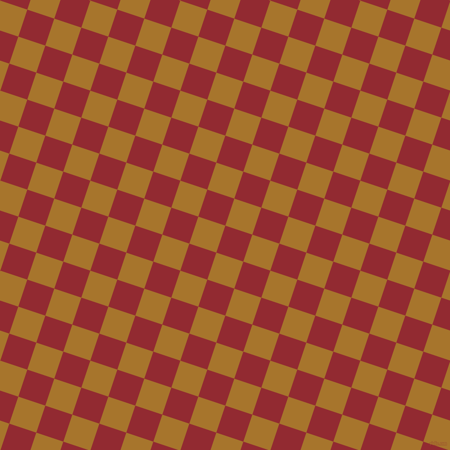 72/162 degree angle diagonal checkered chequered squares checker pattern checkers background, 58 pixel square size, Bright Red and Hot Toddy checkers chequered checkered squares seamless tileable