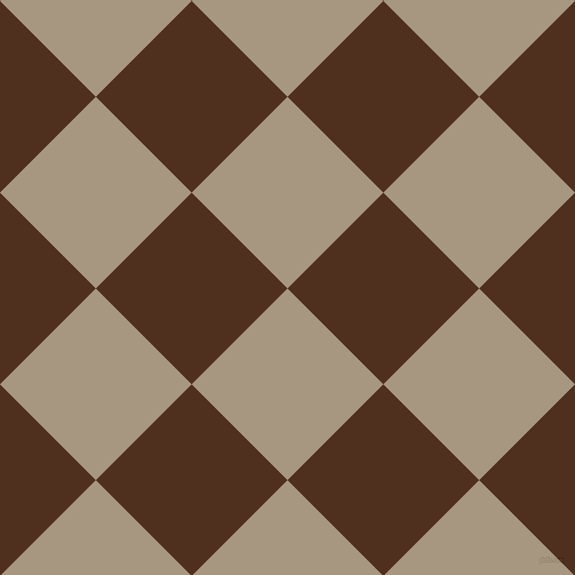45/135 degree angle diagonal checkered chequered squares checker pattern checkers background, 198 pixel square size, , Bronco and Indian Tan checkers chequered checkered squares seamless tileable