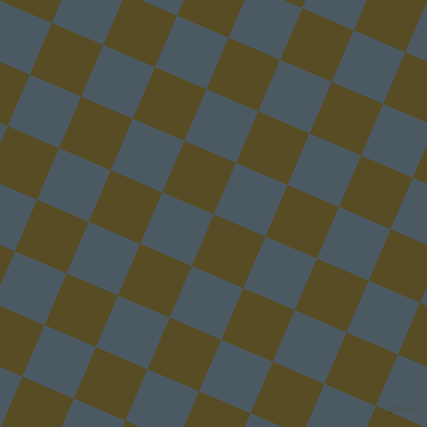 67/157 degree angle diagonal checkered chequered squares checker pattern checkers background, 80 pixel square size, , Bronze Olive and Fiord checkers chequered checkered squares seamless tileable