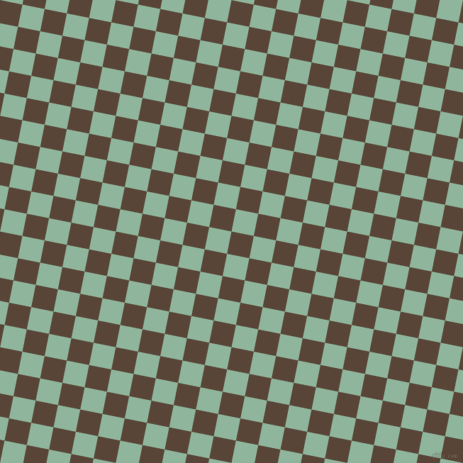 79/169 degree angle diagonal checkered chequered squares checker pattern checkers background, 32 pixel squares size, , Brown Derby and Summer Green checkers chequered checkered squares seamless tileable