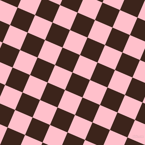 67/157 degree angle diagonal checkered chequered squares checker pattern checkers background, 61 pixel square size, , Brown Pod and Pink checkers chequered checkered squares seamless tileable