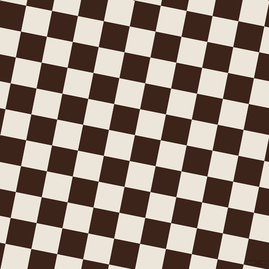 79/169 degree angle diagonal checkered chequered squares checker pattern checkers background, 52 pixel square size, , Brown Pod and Soapstone checkers chequered checkered squares seamless tileable