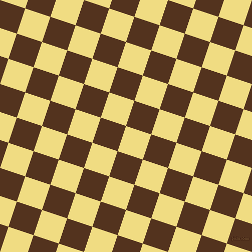 72/162 degree angle diagonal checkered chequered squares checker pattern checkers background, 53 pixel square size, , Buff and Brown Bramble checkers chequered checkered squares seamless tileable