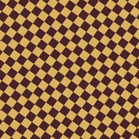 54/144 degree angle diagonal checkered chequered squares checker pattern checkers background, 34 pixel squares size, , Bulgarian Rose and Equator checkers chequered checkered squares seamless tileable