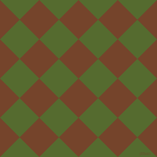 45/135 degree angle diagonal checkered chequered squares checker pattern checkers background, 91 pixel square size, , Bull Shot and Dark Olive Green checkers chequered checkered squares seamless tileable