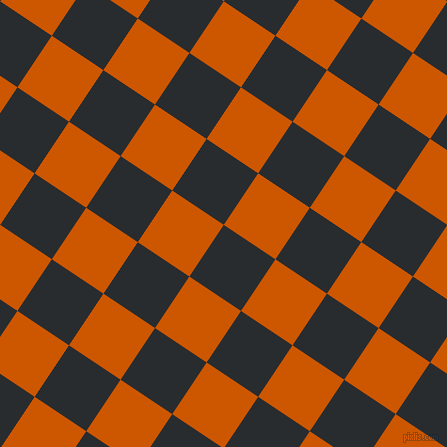56/146 degree angle diagonal checkered chequered squares checker pattern checkers background, 62 pixel square size, , Bunker and Tenne Tawny checkers chequered checkered squares seamless tileable