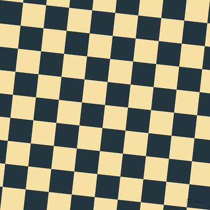 84/174 degree angle diagonal checkered chequered squares checker pattern checkers background, 46 pixel square size, , Buttermilk and Elephant checkers chequered checkered squares seamless tileable
